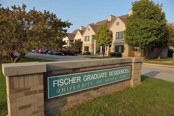 Fischer Graduate Residences..Photo by Matt Cashore/University of Notre Dame